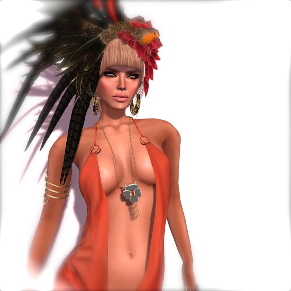 Vero Modero Flaming Dress