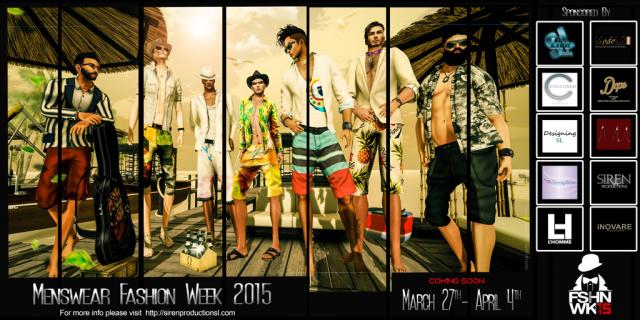 Menswear Fashion Week 2015 Logo Coming March 27th, 2015