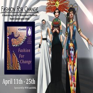 Fashion For Change advert 2048