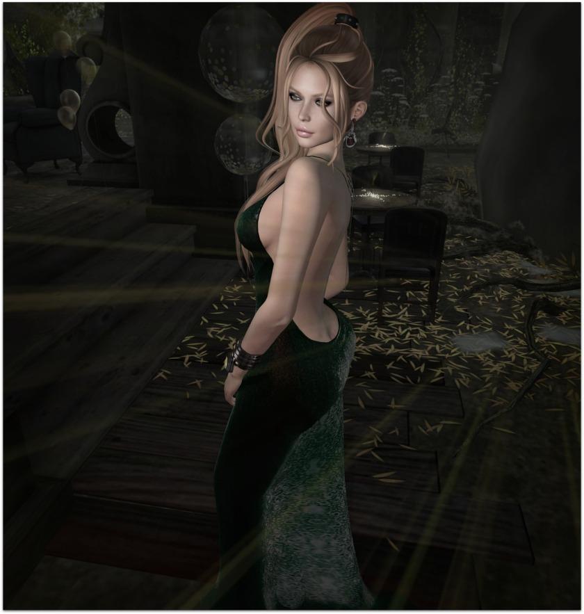 Ghee Beaded Gown